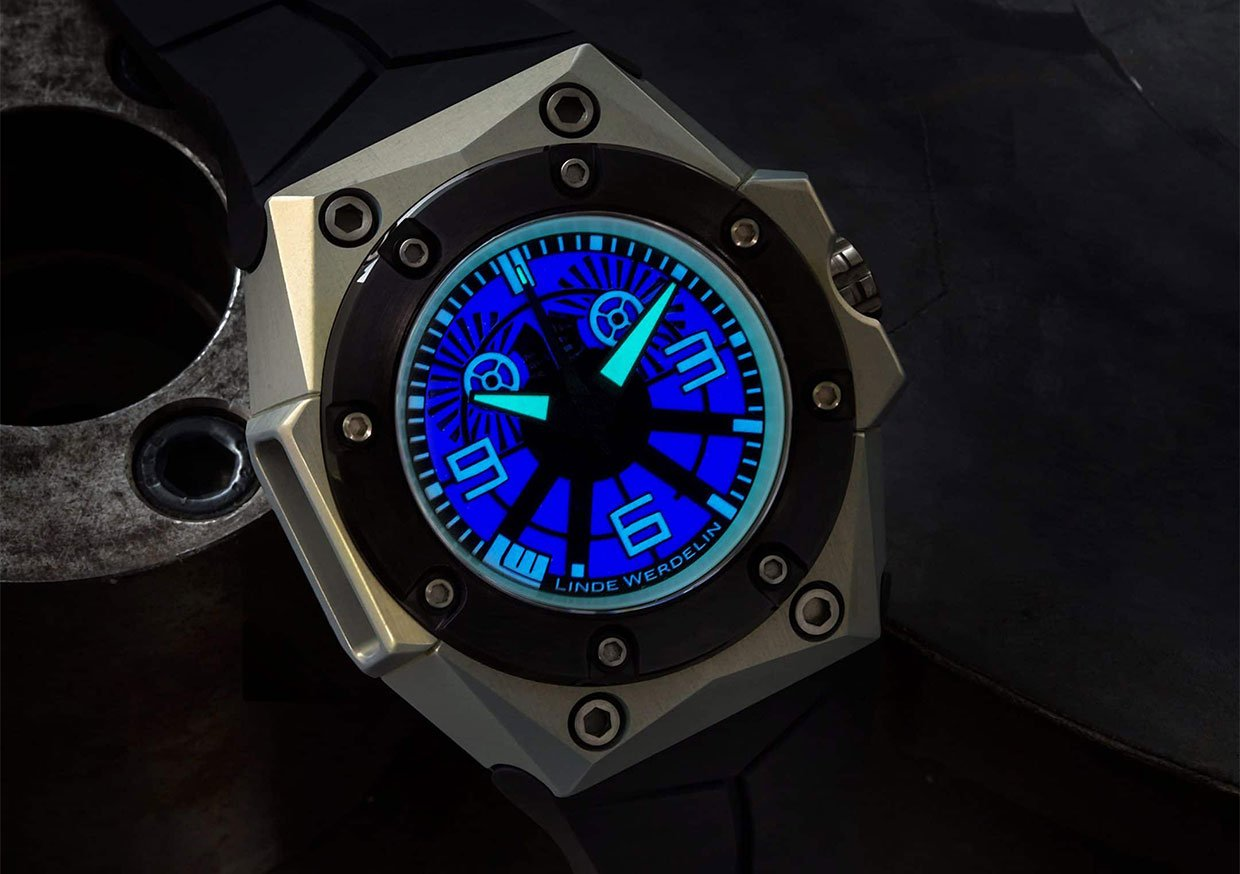 Oktopus Blue Sea Watch
