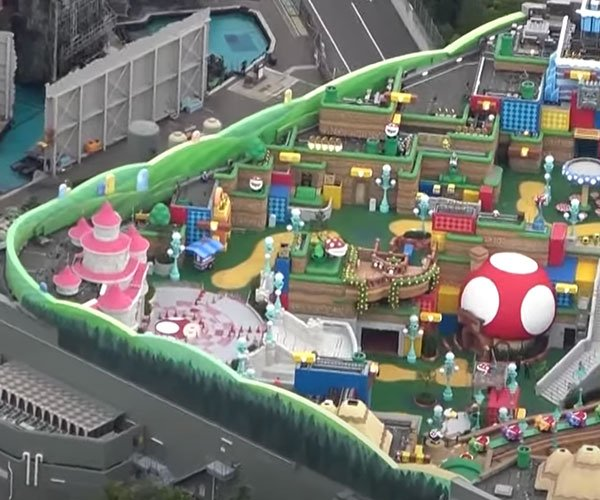 Super Nintendo World Flyover