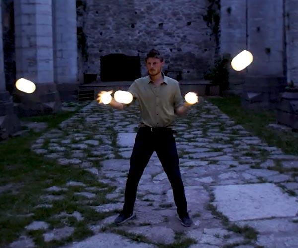 Orbit Juggling