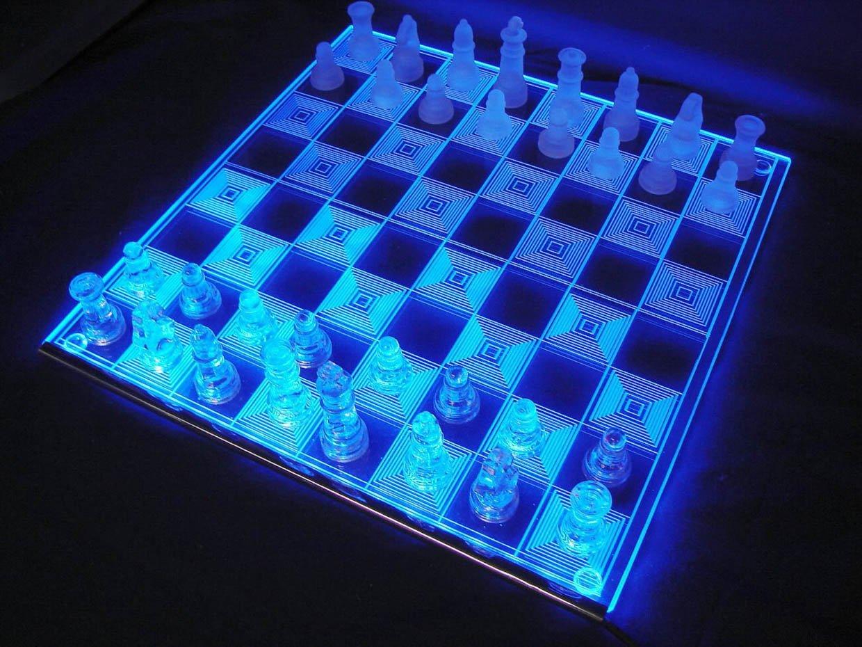 Photon LED Chess Board