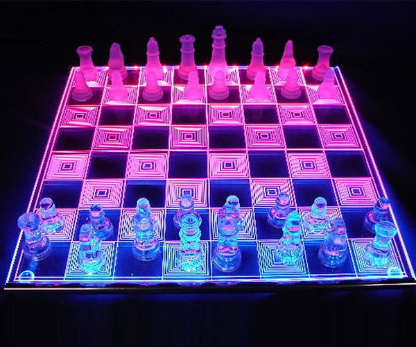 Photon LED Chess Board