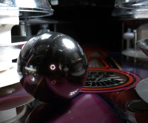 Pinball Machine Slow-Motion