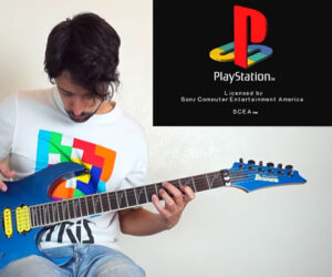 PlayStation Startup Sounds on Guitar