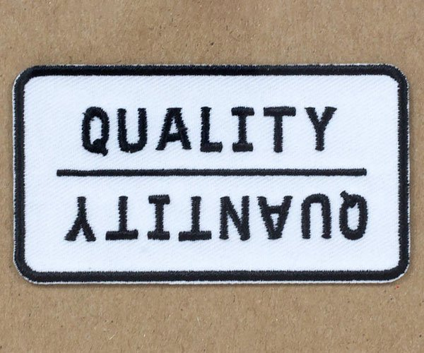 Quality/Quantity Patch
