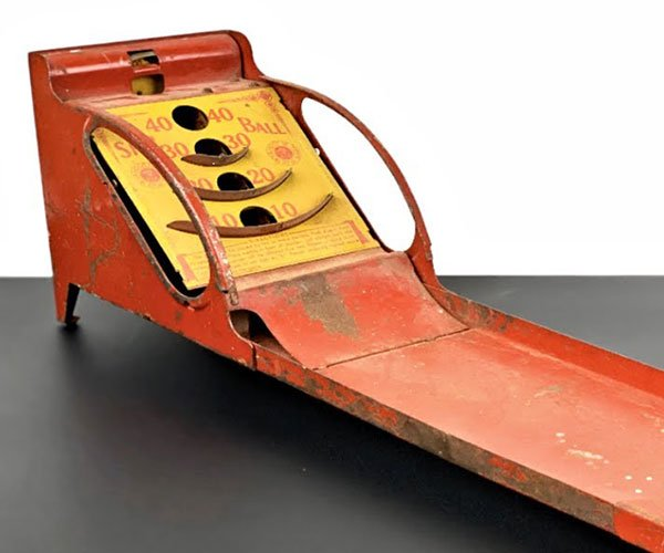 Restoring a Rusty Skee-Ball Toy