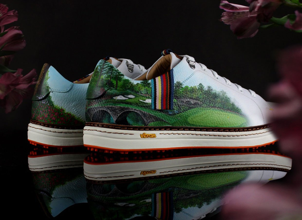 Win These One-of-Kind Royal Albartross Golf Shoes