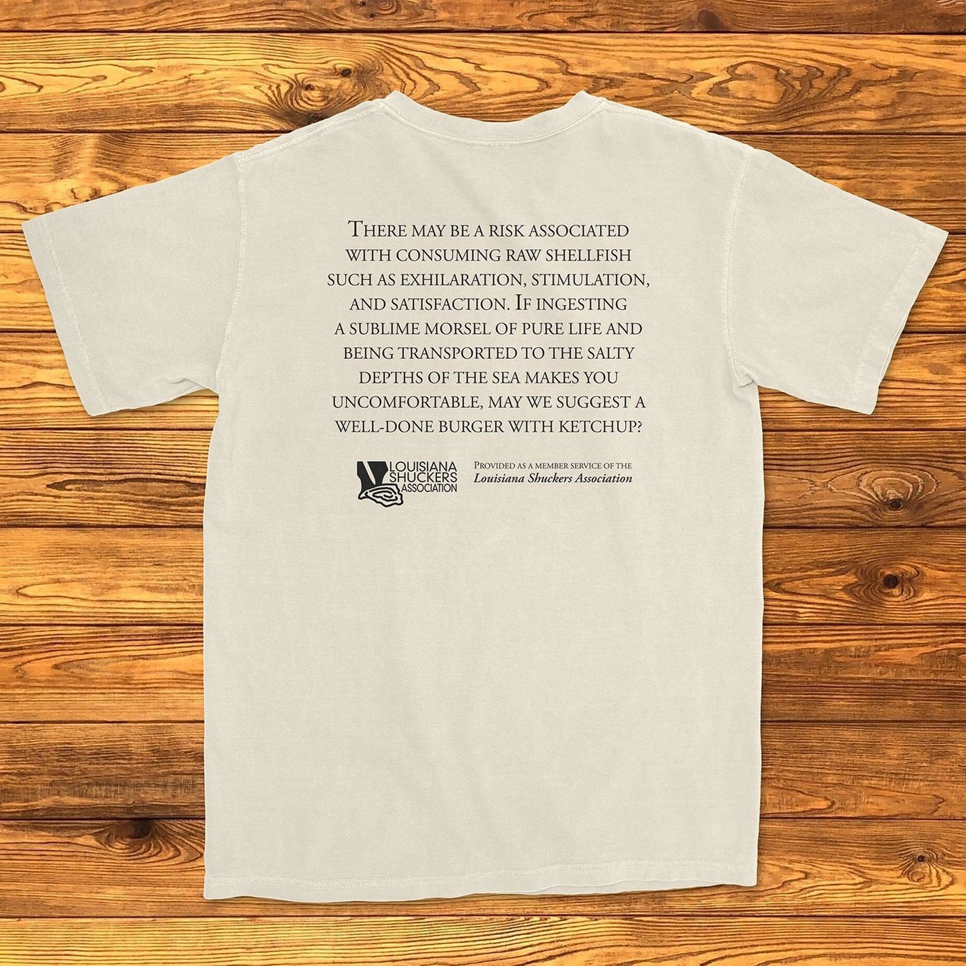 Shellfish Warning T-Shirt
