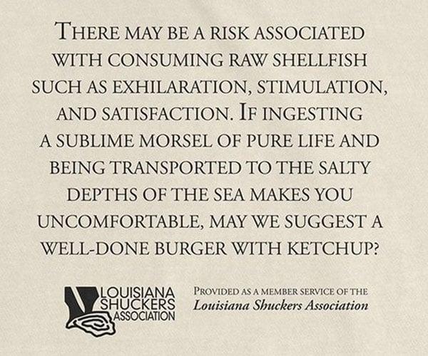 Shellfish Warning T-Shirt