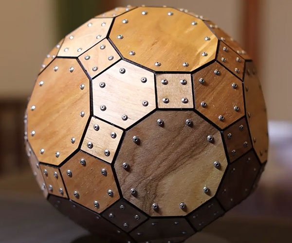 Making a Truncated Icosidodecahedron