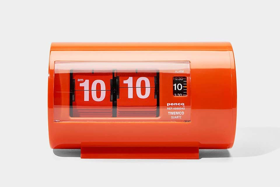 Penco x TWEMCO Mod Flip Clock