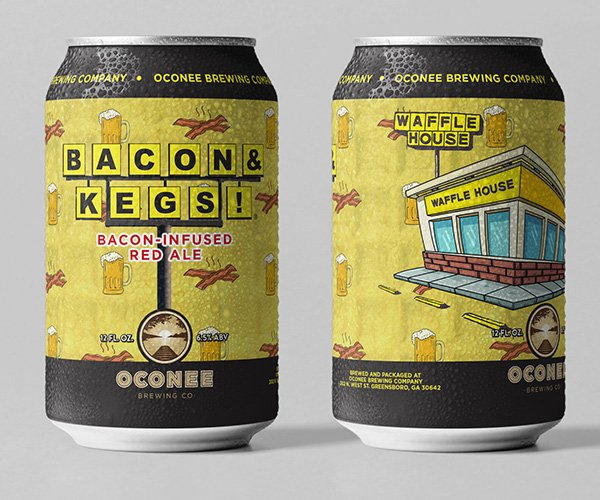 Waffle House Bacon and Kegs Beer