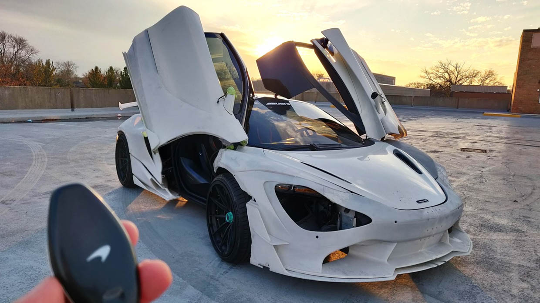 3D-Printed McLaren 720S Widebody Kit