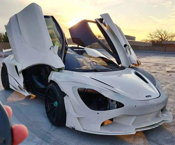 3D-Printed McLaren 720S Widebody Kit