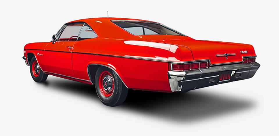 Win a Restored 1966 Chevy Impala