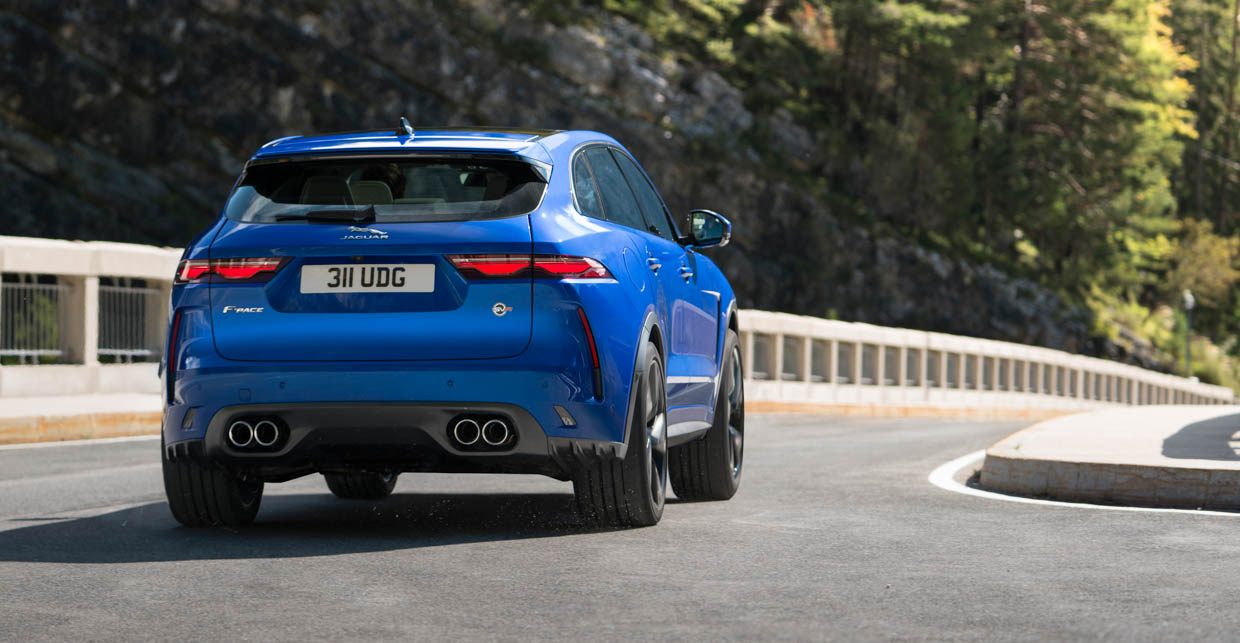 2021 Jaguar F-Pace SVR Does 0-to-60 in Just 3.8 Seconds