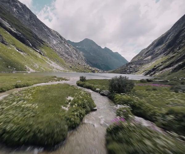 Mountain Surfing the Austrian Alps