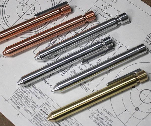 Automog Machined Metal Pens