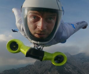 BMW Electric Wingsuit