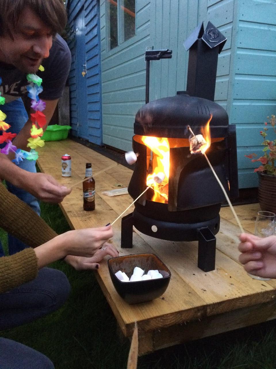 Boba Fett Fire Pit