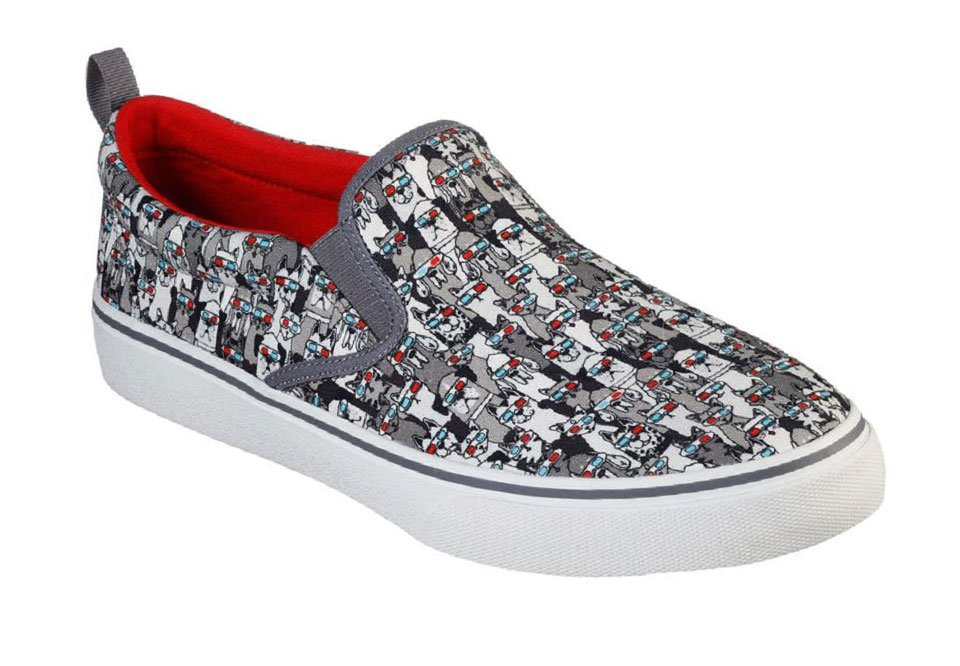 Skechers Bobs V'Lite 3D Fun Slip-On Sneakers