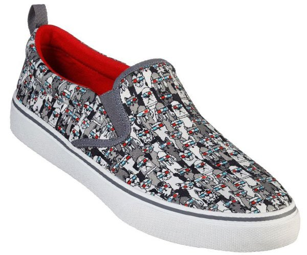 Skechers Bobs V'Lite 3D Fun Slip-On Sneakers