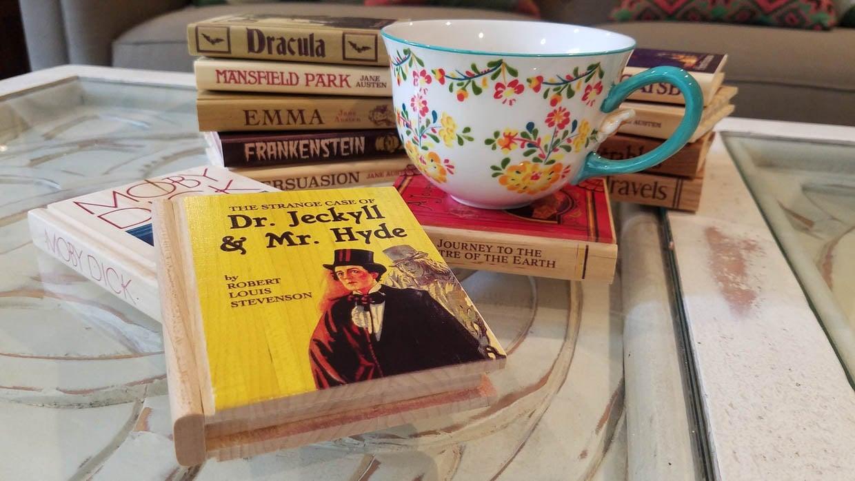 Book Coasters