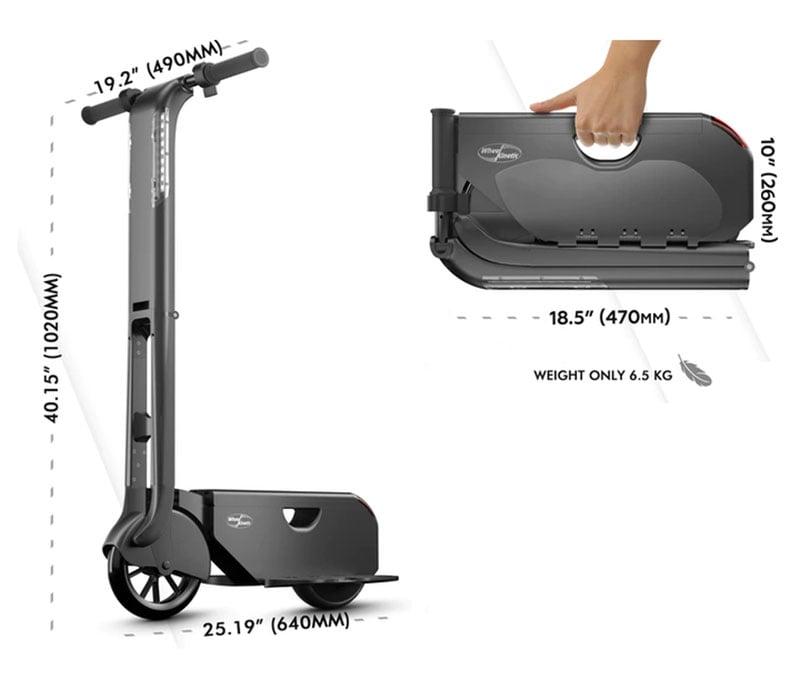 BooZter Folding Elextric Scooter