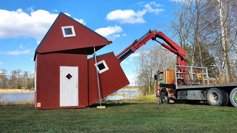 Foldable Pre-Fab Tiny Houses