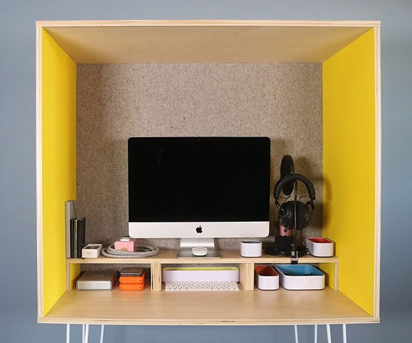 DIY Plywood Workspace