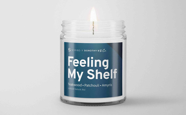Feeling My Shelf Candle