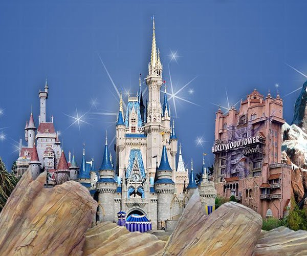 How Disney Parks Fool Us with Forced Perspective