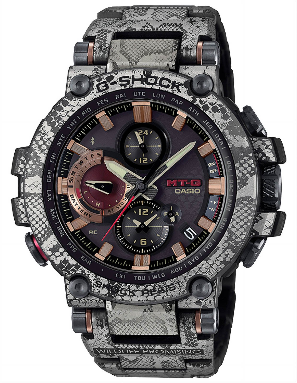 G-SHOCK Python MT-G Watch