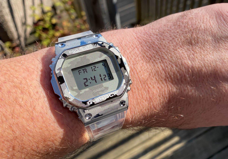 G-SHOCK Transparent Camo Watches