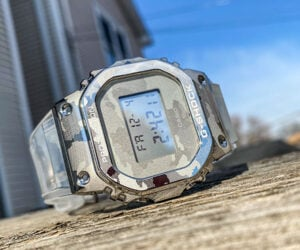 G-SHOCK Transparent Camo Watches