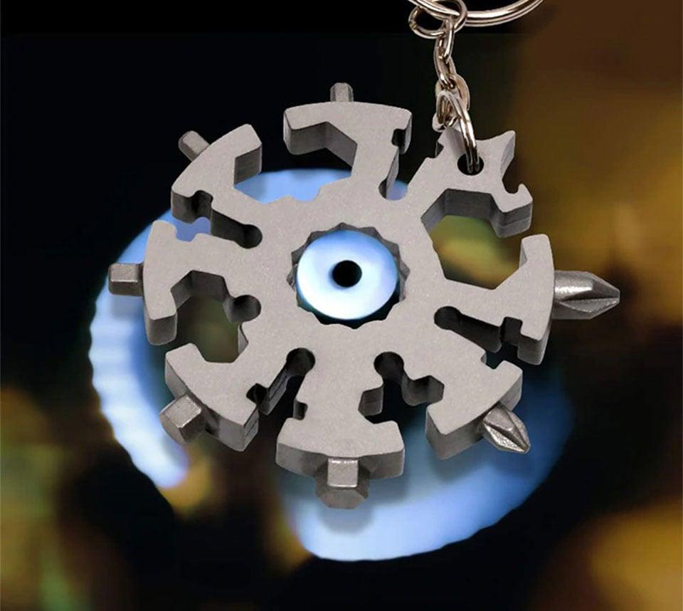 GearPride Snowflake Pocket Multi-Tool