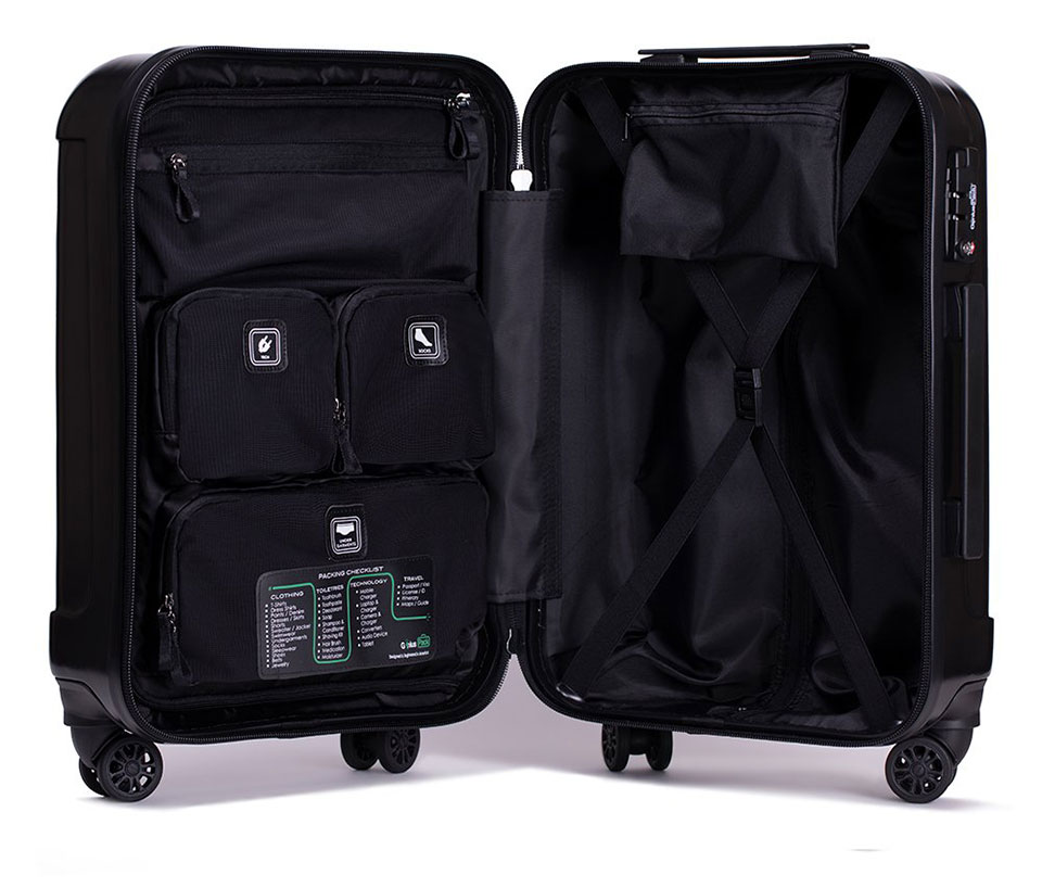 Genius Pack Supercharged Carry-on Suitcase