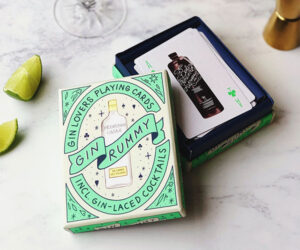 Gin Rummy Cocktail Playing Cards
