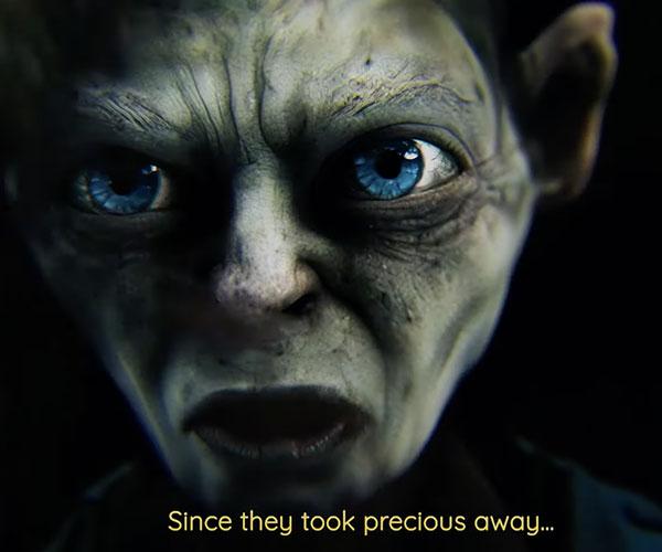 Gollum: Nothing Compares 2 U