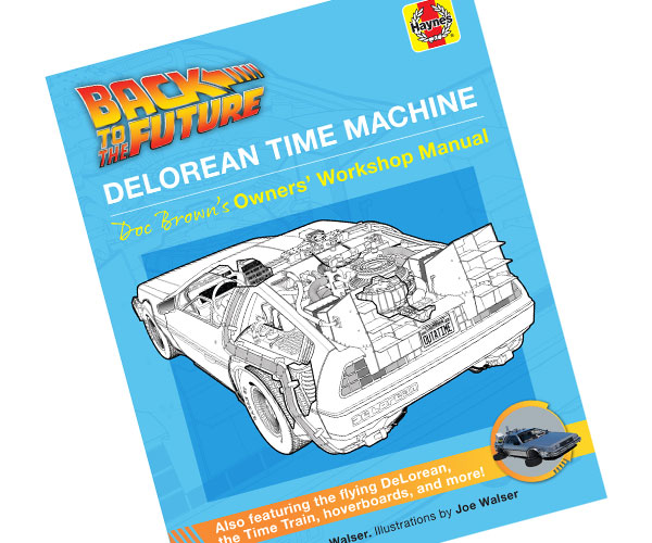Back to the Future DeLorean Owner's Workshop Manual