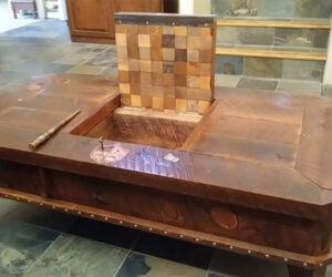 Hidden Compartment Coffee Table
