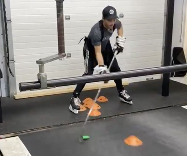 Hockey Training Treadmill