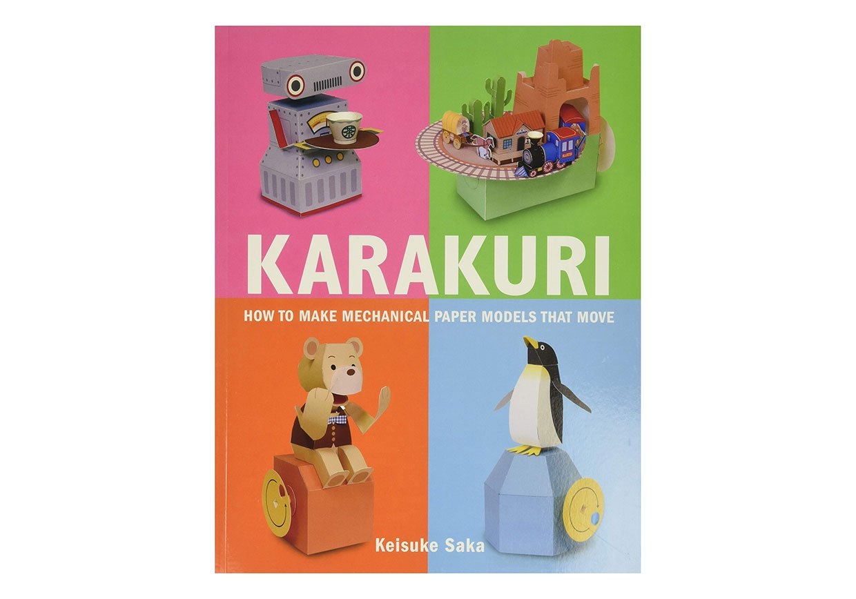 Karakuri Mechanical Paper Models