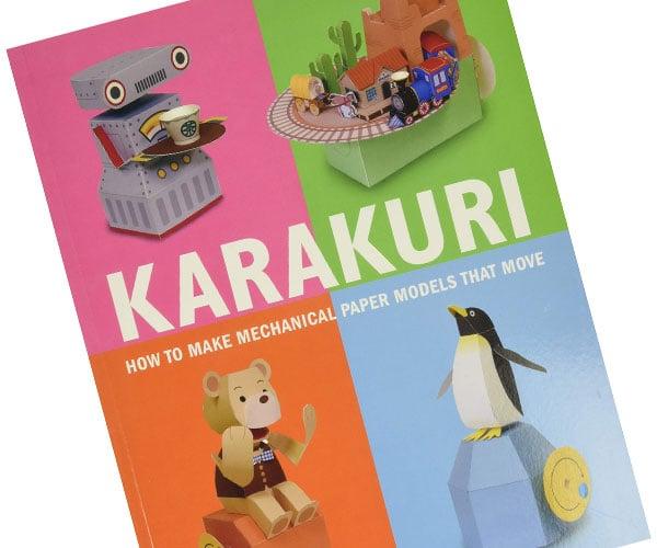 Karakuri Mechanical Paper Models