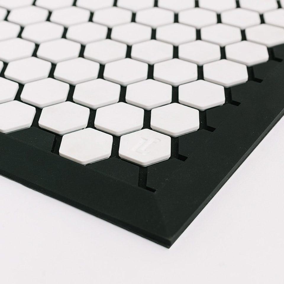 Letterfolk Tile Floor Mat