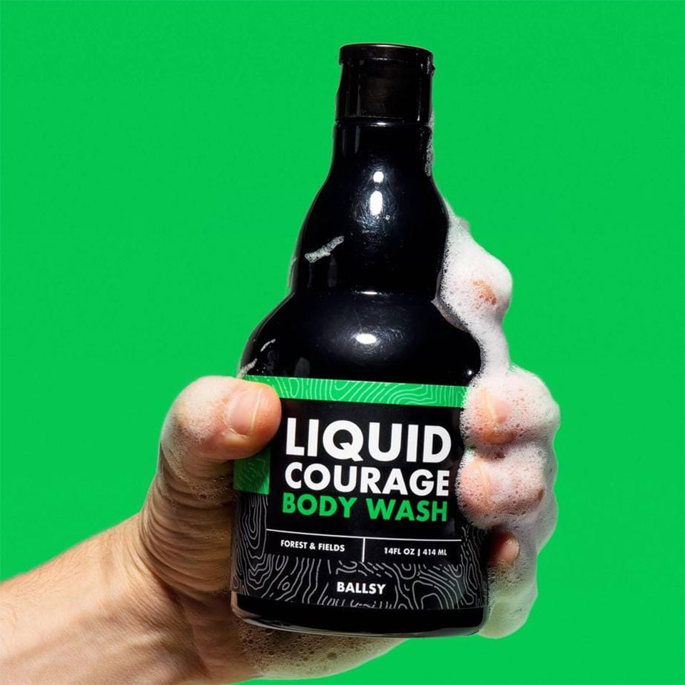 Liquid Courage Body Wash