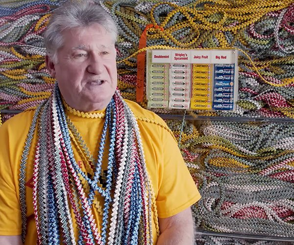 World's Longest Gum Wrapper Chain