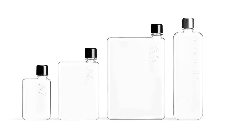 Memobottle Flat Bottles