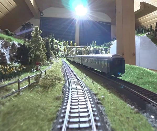 Model Railroad POV