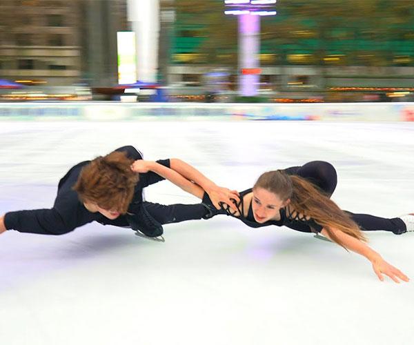 Figure Skating to Metallica