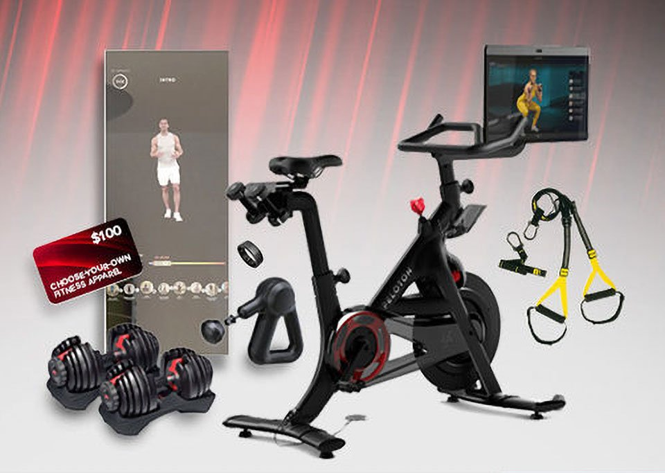Win a Complete Home Gym with a Peloton Bike